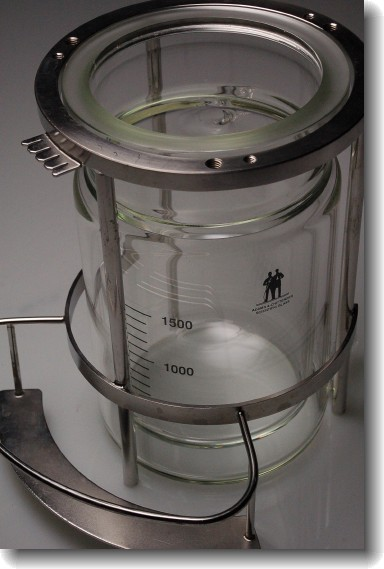 2L jacketed glass reactor
