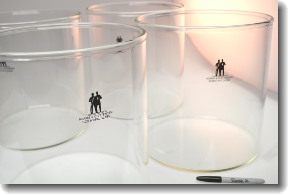 Large Borosilicate Beakers