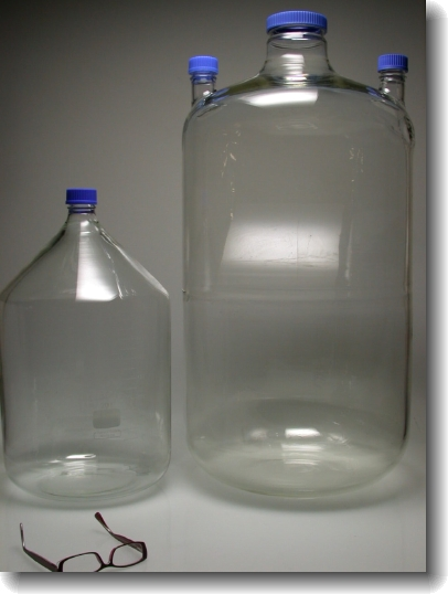 Modified carboy