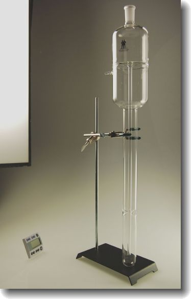 large capacity glass bubbler